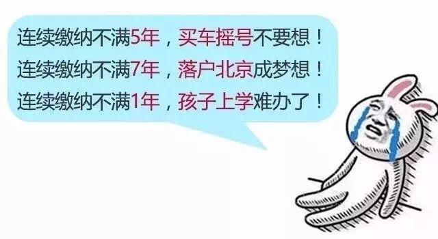 2019年7月后北京自己缴社保每月多少钱?